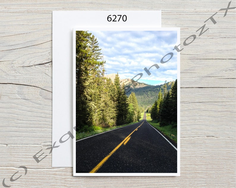 Variety of A7 greeting cards image 8