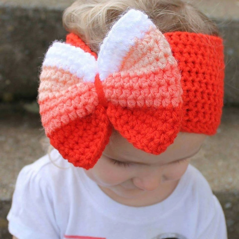 Girly Head Wrap Knitting Pattern - 6 Sizes Included