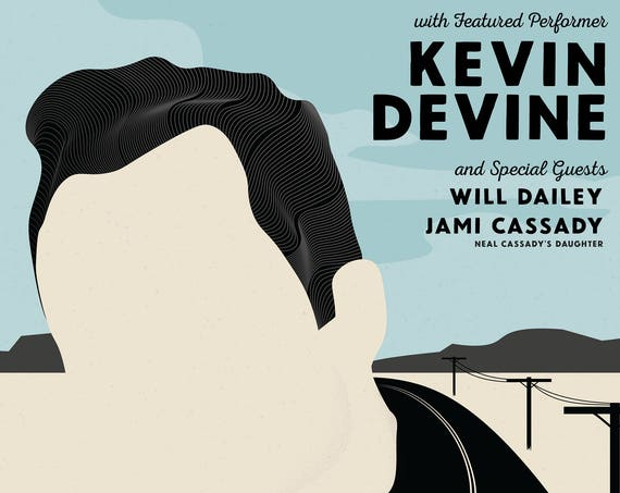 "Jack Kerouac 60th Anniversary of ""On The Road"" with Kevin Devine"
