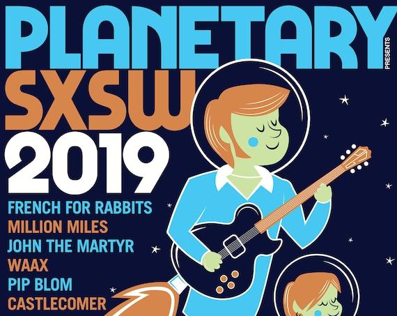 Planetary Group SXSW Showcase // Friends Bar // Austin, TX