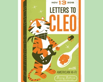 Letters To Cleo // Bowery Ballroom, NYC