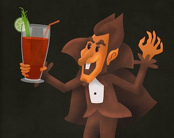 October: Count Chocula and Bloody Marys