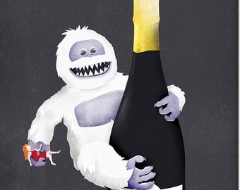 January: Snowmonsters and Champagne