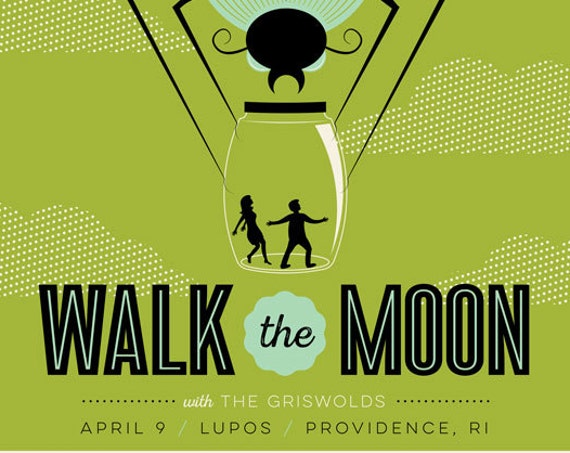 Walk The Moon 18x24 Screenprinted Gig Poster