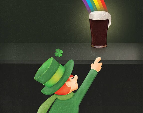 St. Patrick's Day and a Guinness Card