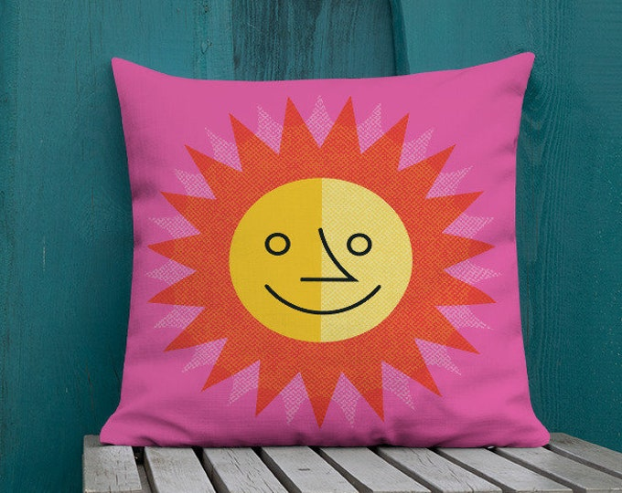 Featured listing image: Sun & Moon 2 Sided Premium Pillow