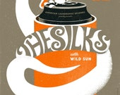 The Silks, Wild Sun gig poster Knickerbocker Cafe, Westerly RI