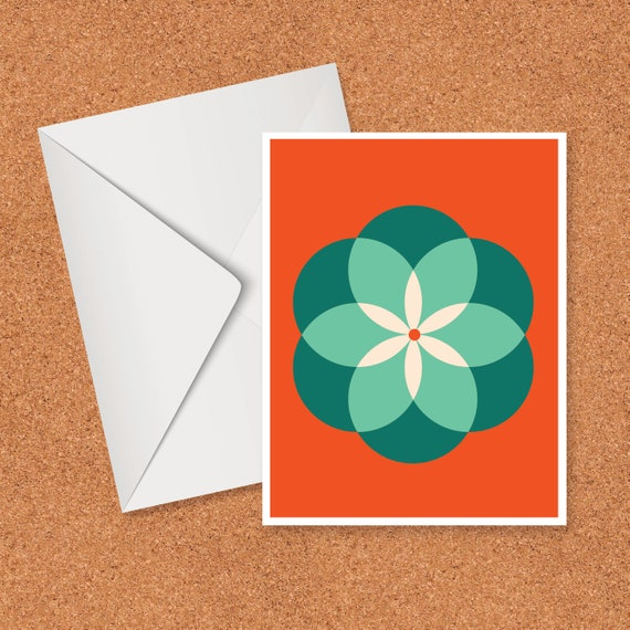 Intersecting Circles Card
