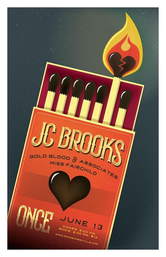JC Brooks // ONCE, Somerville, MA