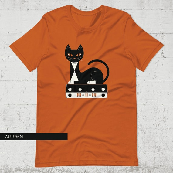 Stereo Cat Tee