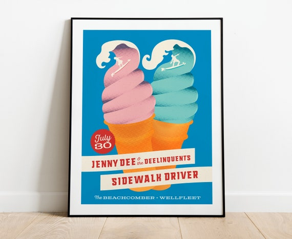 Jenny Dee & The Delinquents/Sidewalk Driver  // The Wellfleet Beachcomber, Cape Cod, MA