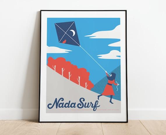 Nada Surf // The Paradise, Boston. 16x20 screenprint.