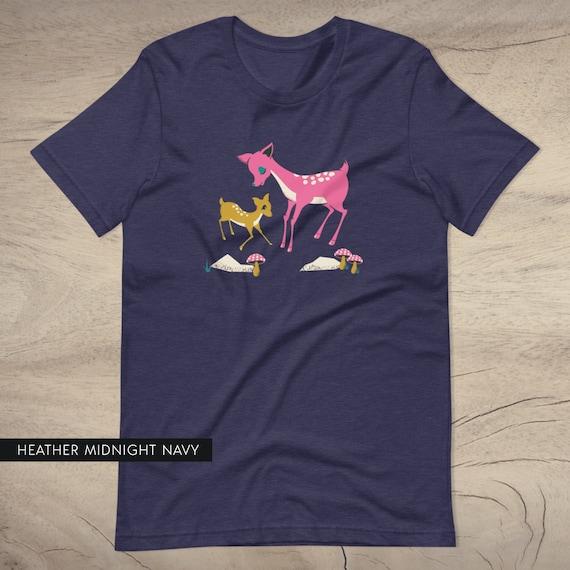 Pink Deer and Doe Tee (UNISEX SIZES)