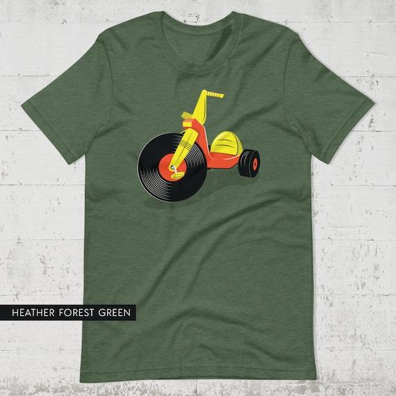 Vinyl Big Wheel Tee (UNISEX SIZES)