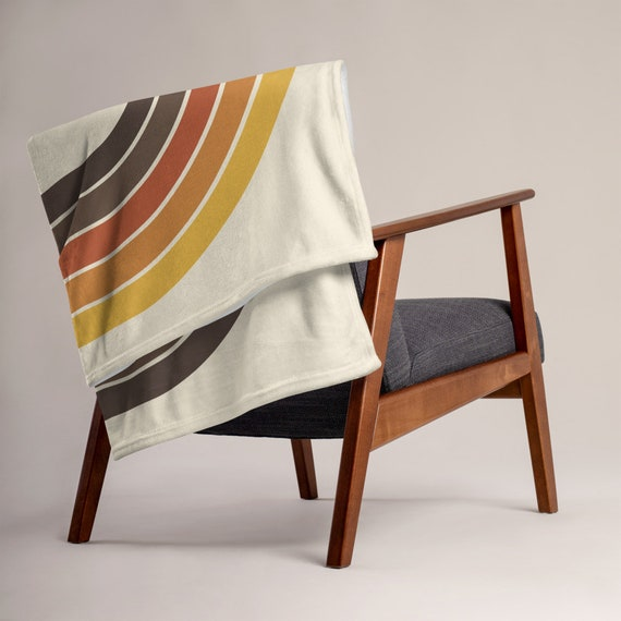 70s Rainbow Throw Blanket (FREE US SHIPPING!)