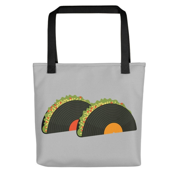 Record Tacos Tote