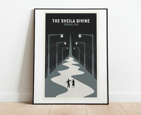 The Sheila Divine 2 color screen print, 12x18