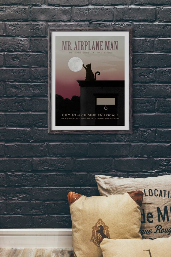 Mr. Airplane Man @ Cuisine en Locale, Somerville, MA