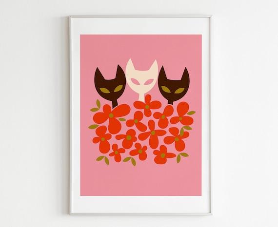 Flower Kitties