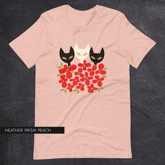 Flower Kitties Tee
