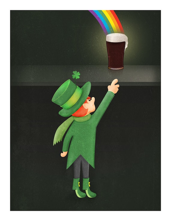 March: St. Patrick's Day and a Guinness