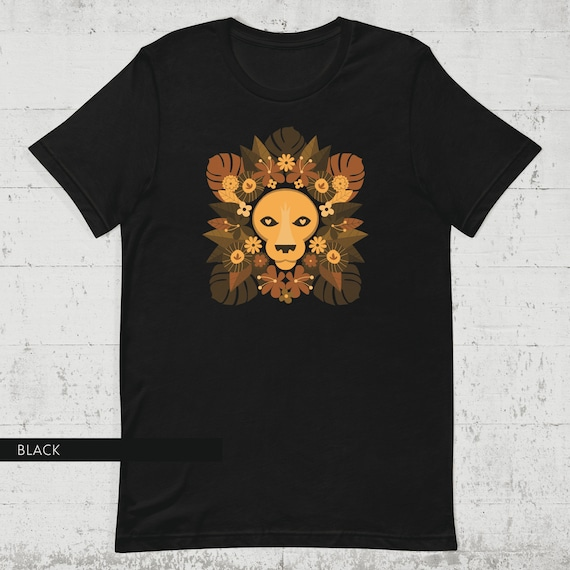 Floral Lion Tee (UNISEX SIZES)