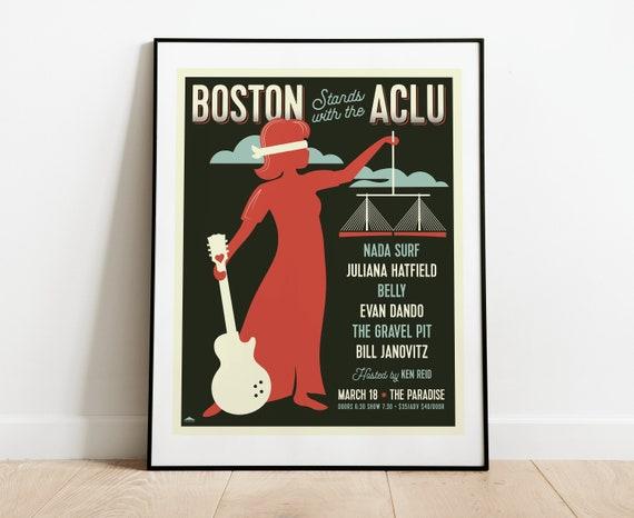 Boston Stands with the ACLU // Nada Surf, Juliana Hatfield, Belly, Evan Dando, The Gravel Pit, Bill Janovitz