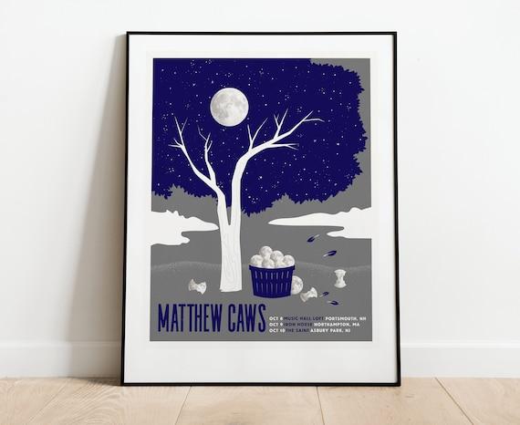 Matthew Caws of Nada Surf // 3 color 16x20 screenprint.