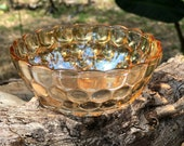 Desert Fruit 4 quot bowl in Bubble Iridescent (Not Peach Lustre) by Anchor Hocking