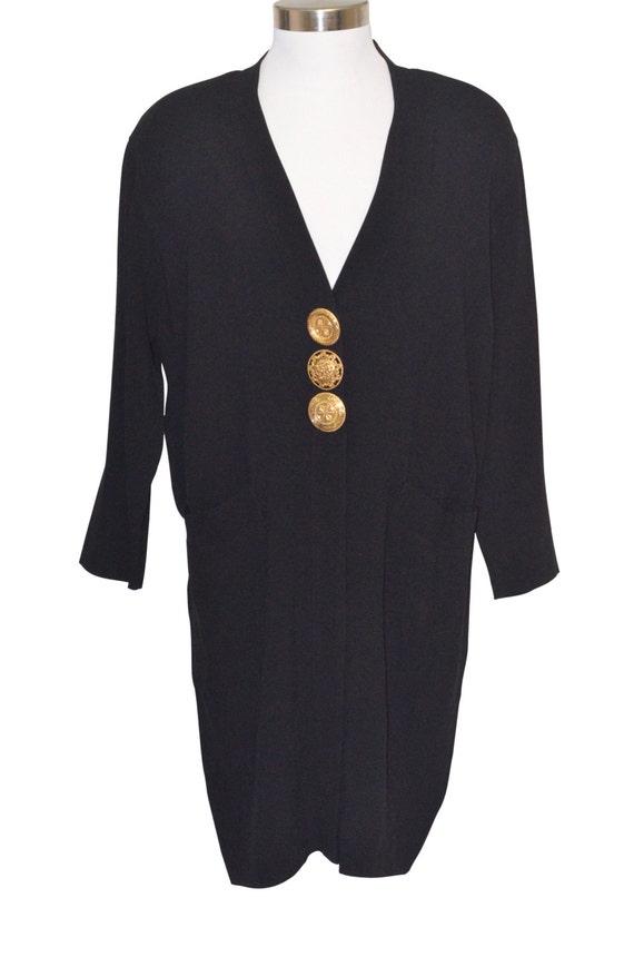 Vintage Estate GianFranco Ferre Black Dress