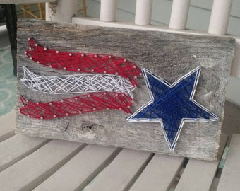 Americana Star String Art