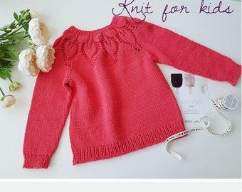 68279a4c2ba1 Knit girls sweater