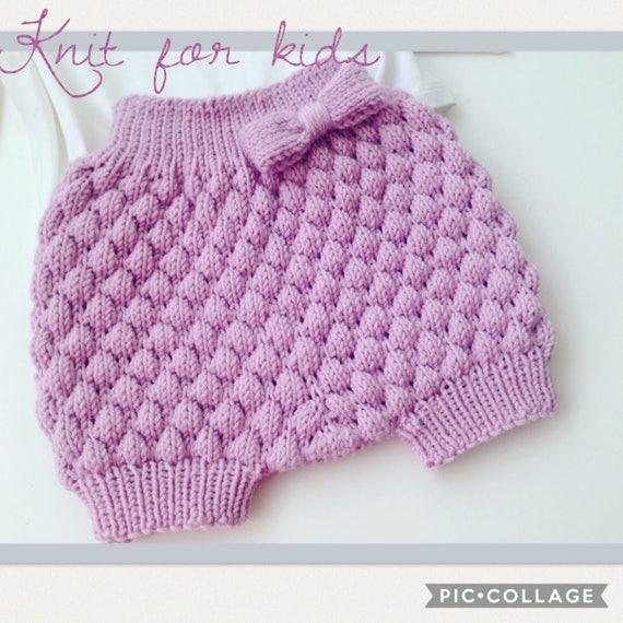 Gestrickte Baby Pumphose / baby-Windel-Abdeckung / baby | Etsy