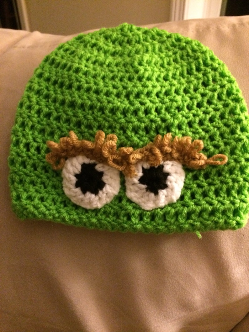 a77c2459045 Oscar the Grouch Hat