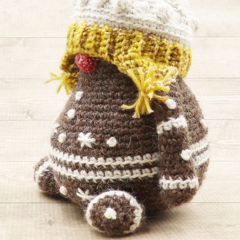 GINGERBREAD MAN Crochet PDF Pattern Amigurumi for Christmas image 0