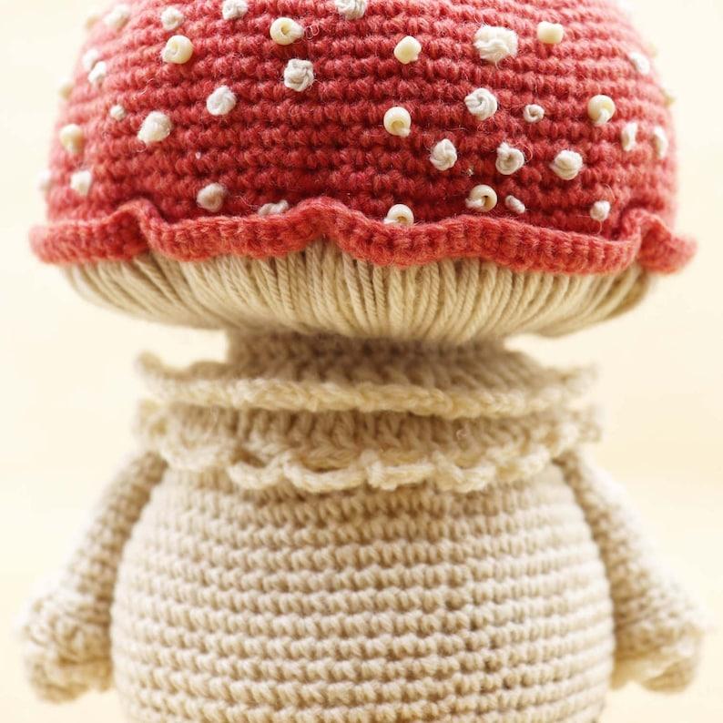 MUSHROOM MAN Crochet PDF Pattern Amigurumi Mushroom Crochet image 0