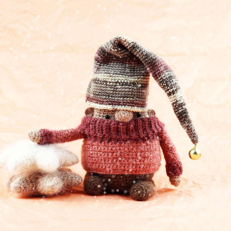 PINKY Crochet PDF Pattern Amigurumi for Christmas Amigurumi image 0