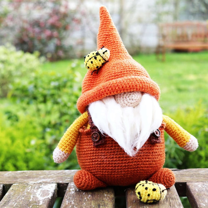 PEPE Crochet PDF Pattern Amigurumi Garden Gnome image 0