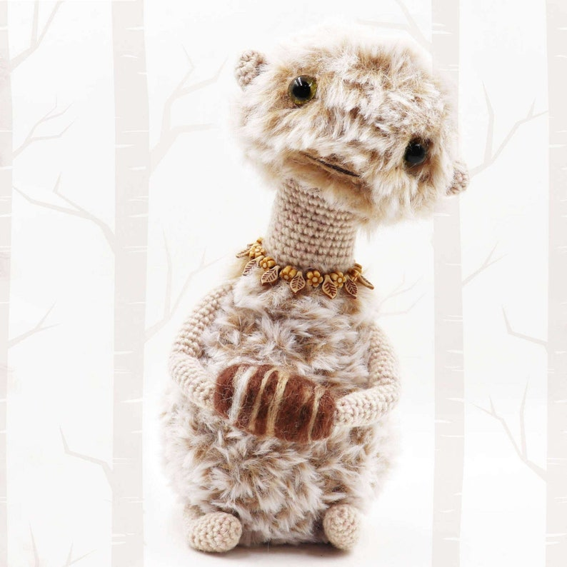 ETHUU  Spirit of the Earth  Crochet Pattern  Fantasy Toy image 0