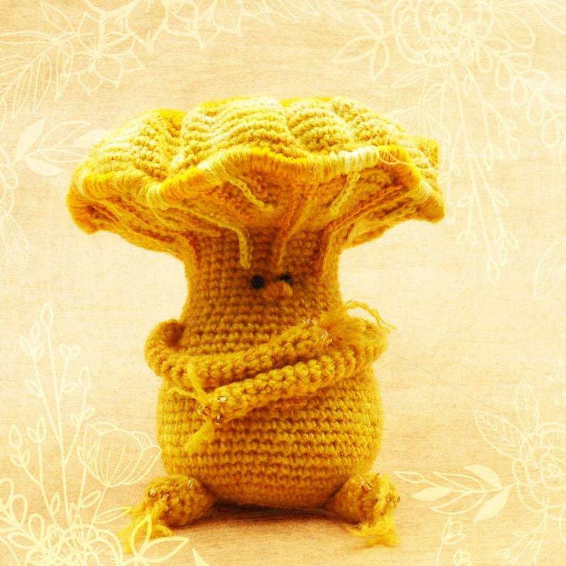 CHIKU Amigurumi Chanterelle Pattern Crochet PDF Pattern image 0