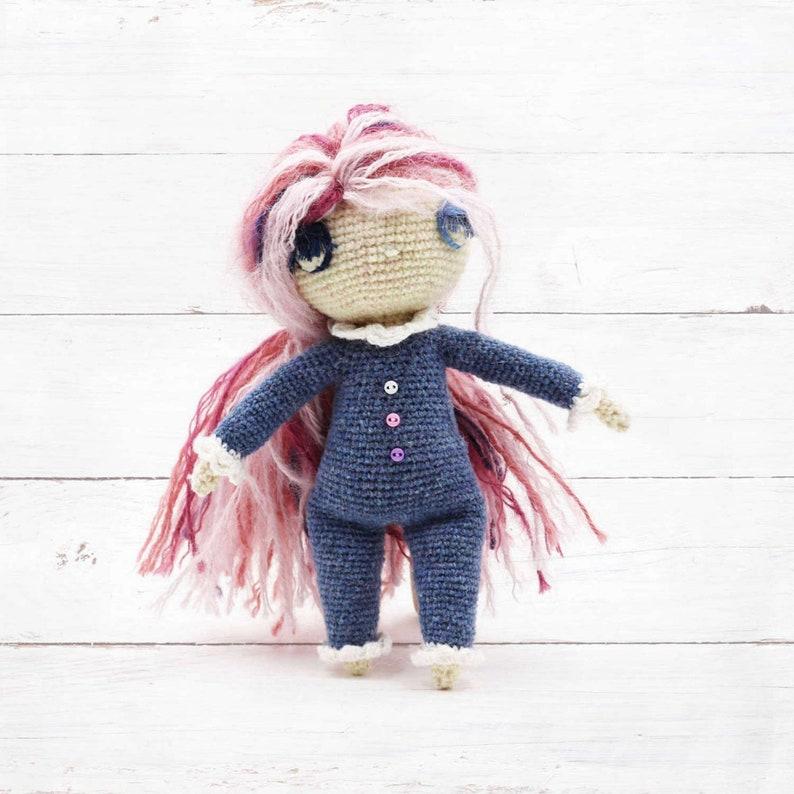 LUUMA  Amigurumi Doll  Crochet Pattern image 0