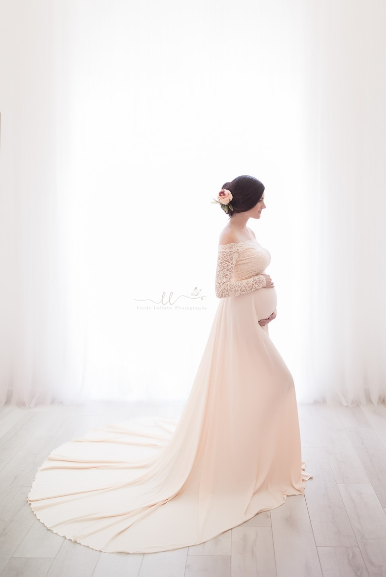 Maternity Wedding Gown   Stay at Home Mum