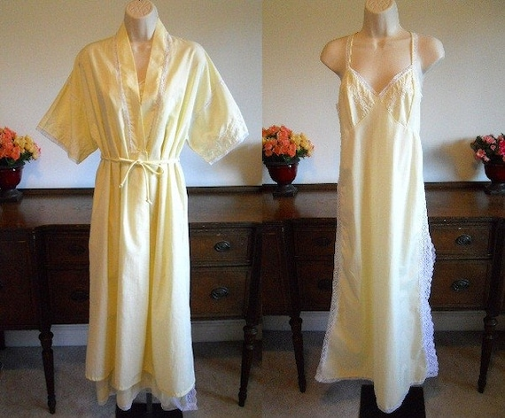 Vintage 1960's French Maid La Cie Nightgown and Ho