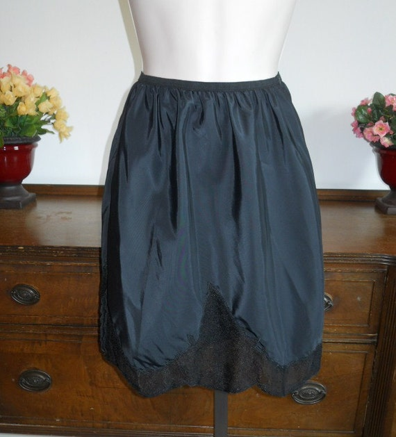 Vintage nylon mini slip