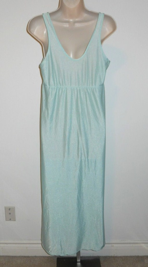 Vintage Mint Green Nightgown  ~ 1970's St Michael… - image 4