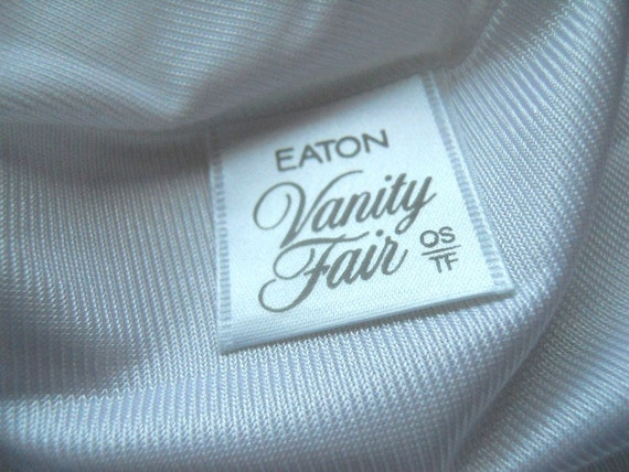 Vintage Vanity Fair White Panties~ 1980's Antron … - image 3