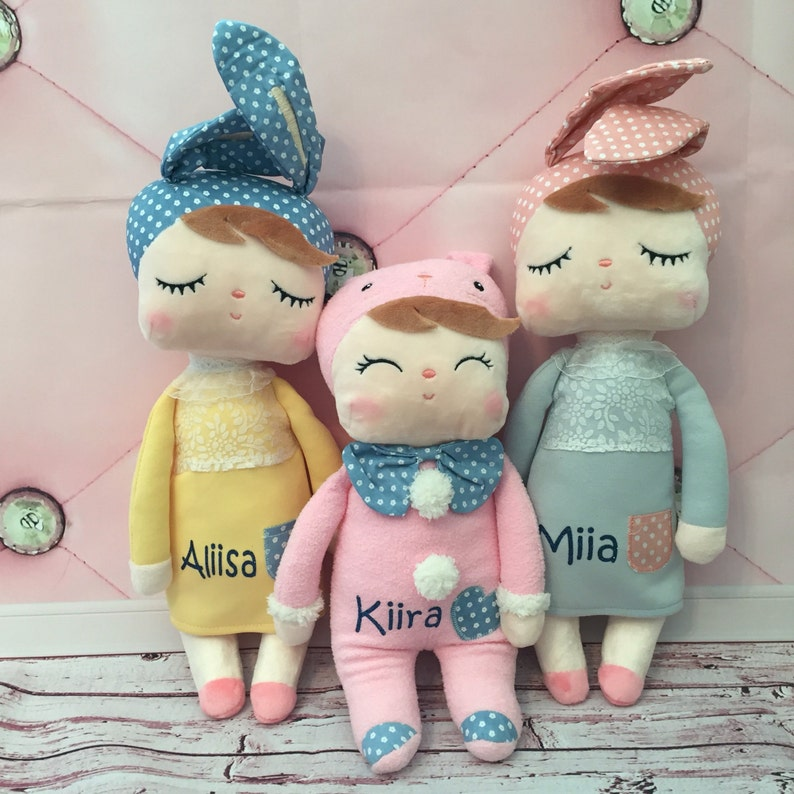 Personalized Doll. Plush Doll. Soft Plush Material. Girls image 0