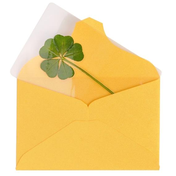 Genuine Real 5 Five Leaf Clover Bookmarks Irish Shamrock Good