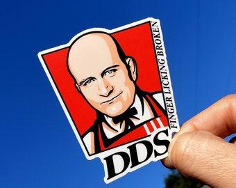 Stickers / Jiu jitsu - BJJ - judo - DDS - Danaher Death Squad KFC style - original design - Leg locks lovers - heel hook players