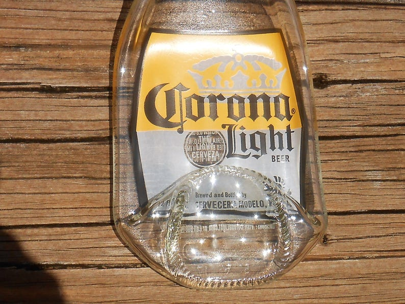 Corona Light Beer Bottle Spoon Rest, Ashtray, Anything Dish  Beer bottle  upcycled into a cool BBQ accessory or home accent